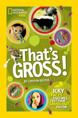"""That's Gross"" book cover"