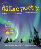 """The book of Nature Poetry"" book cover"