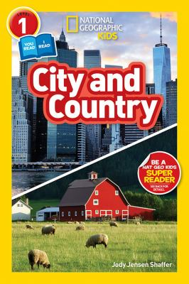 Cover Art features buildings in the background and grass in the foreground.