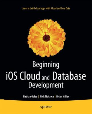 book cover: Beginning iOS Cloud and Database Development