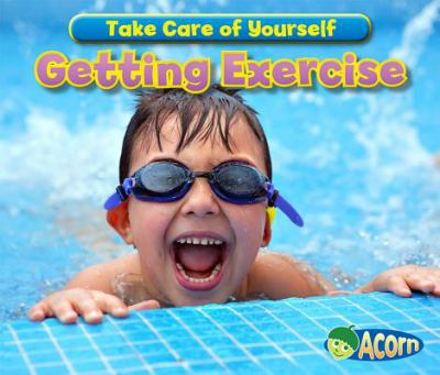 book cover with photo of boy by edge of pool laughing and wearing goggles