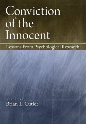 Conviction of the Innocent Cover Art