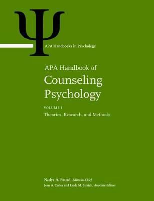 Cover Art of APA Handbook of Counseling Psychology