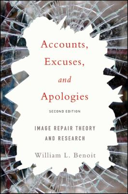 Accounts, Excuses, and Apologies Cover Art