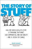 Story of Stuff book cover