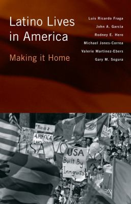Book cover for Latino lives in America.