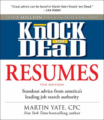 Cover image for Knock 'em Dead Resumes