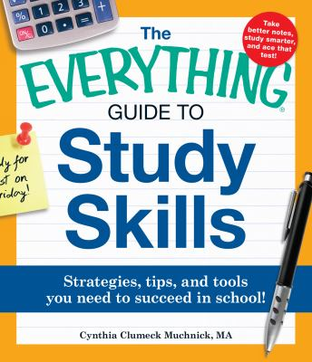 The Everything Guide to Study Skills Cover Art