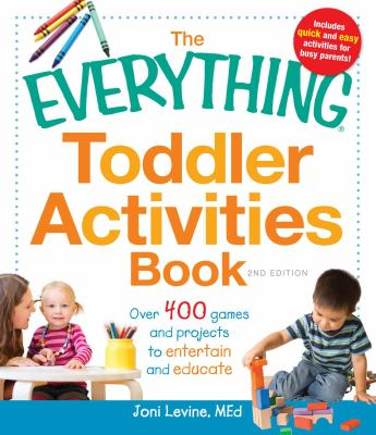 Book cover art for The Everything Toddler Activities Book