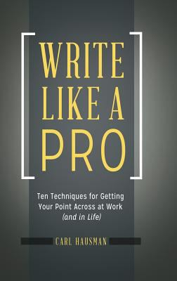 Write Like a Pro Cover Art