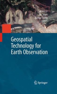 Book Cover: Geospatial Technology for Earth Observation