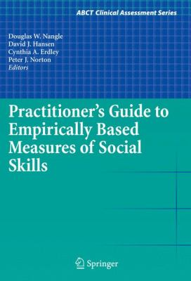 Practitioner's Guide to Empirically Based Measures of Social Skills Cover