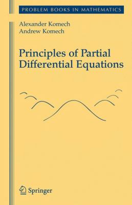 book cover:  Principles of Partial Differential Equations
