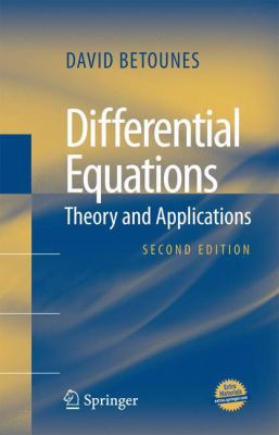 book cover: Differential Equations: Theory and Applications