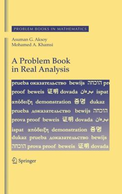 book cover: A Problem Book in Real Analysis
