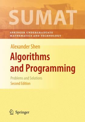 book cover: Algorithms and Programming