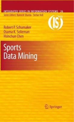 book cover: Sports Data Mining