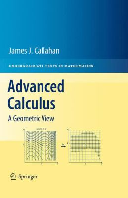 book cover: Advanced Calculus: a geometric view