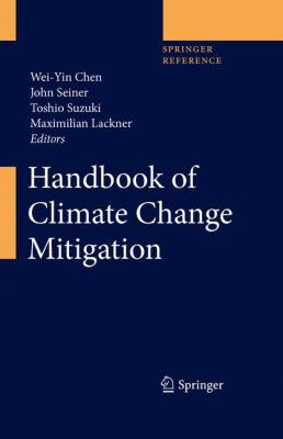 Book Cover : Handbook fo Climate Change Mitigation