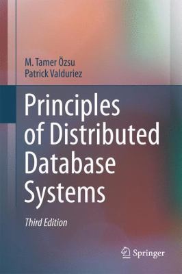 book cover:  Principles of Distributed Database Systems