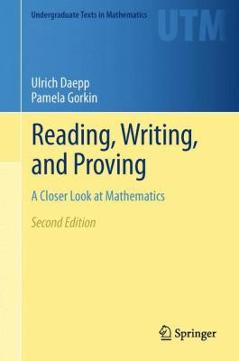 book cover: Reading, Writing, and Proving