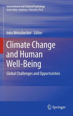 Book Cover : Climate Change and Human Well-Being : global challenges and opportunities