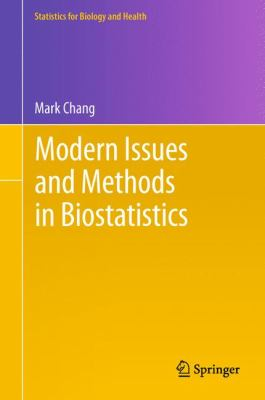 Book cover: Modern Issues and Methods in Biostatistics
