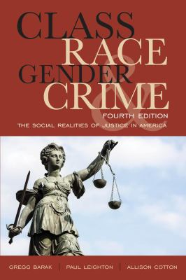 Class Race Gender and Crime Cover Art