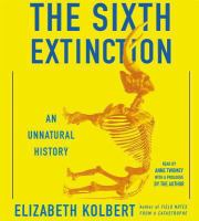 Book cover for The Sixth Extinction
