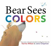 Book cover for Bear Sees Colors