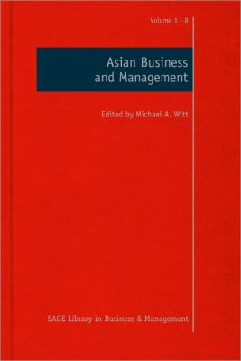 Book jacket for Asian Business and Management