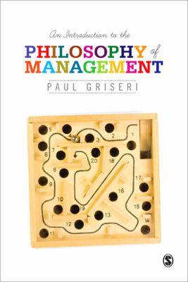 Book jacket for An Introduction to the Philosophy of Management