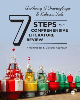 Book cover 7 steps to a comprehensive literature review