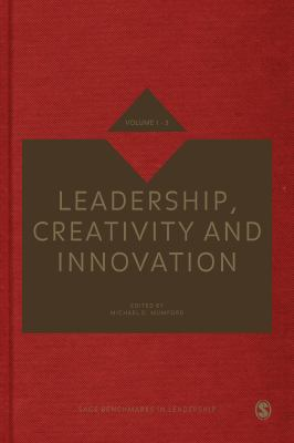 Book jacket for Leadership, Creativity and Innovation