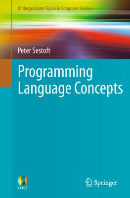 book cover: Programming Language Concepts