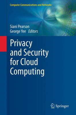 book cover: Privacy and Security for Cloud Computing