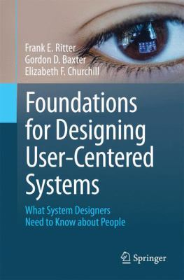 book cover:  Foundations for Designing User-Centered Systems