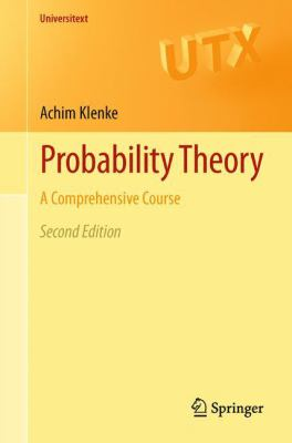 book covers: Probability Theory: a comprehensive course (2013)