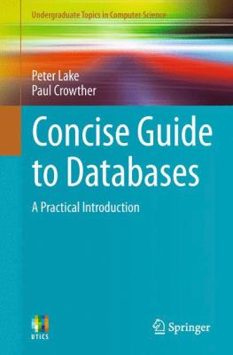 book cover: Concise Guide to Databases