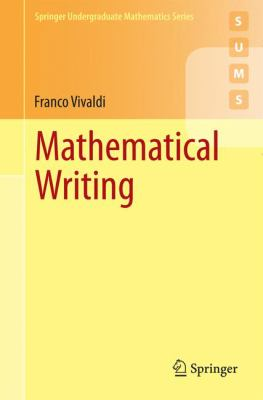 book cover: Mathematical Writing