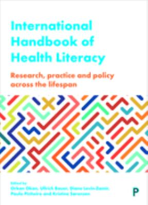 Book cover: International handbook of health literacy