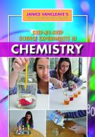 Step-By-Step Science Experiments in Chemistry by Janice VanCleave