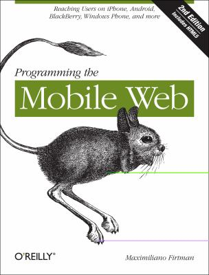 book cover: Programming the Mobile Web