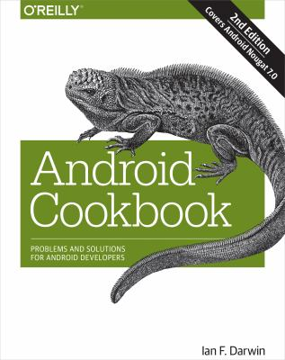 book cover: Android Cookbook