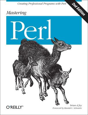 book cover: Mastering Perl