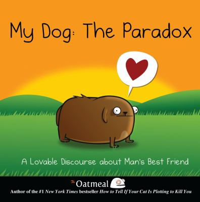 Cover Art features a comic drawing of a brown dog.