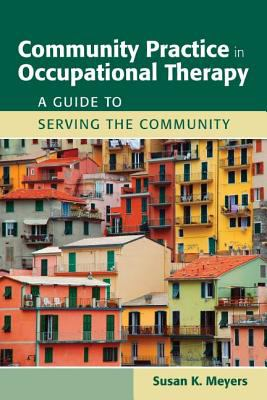Community Practice in Occupational Therapy cover and link