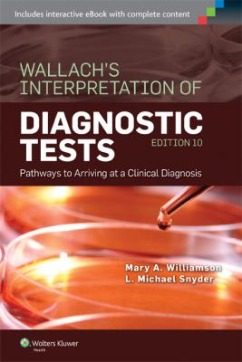 Book cover for Wallach's Interpretation of Diagnostic Tests