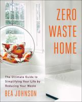 Zero waste home book cover