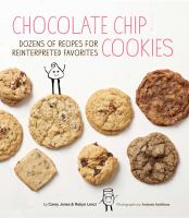Book cover for Chocolate Chip Cookies by Carey Jones
